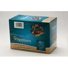 MPM Produc Applaws Cat Pouch thon et Anchois Lot de 12 70 g Lot de 1
