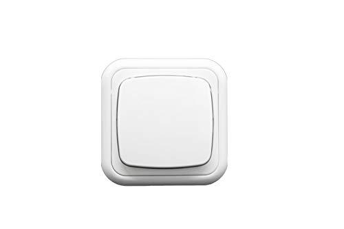 Cruzamiento superficie serie premium (Interruptor cruzado) color blanco