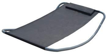 AMANKA 200x130 Wetterfest - XL Outdoor Relaxliege bis 120 kg - Sonnenliege Gartenliege Liegestuhl