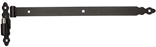 KOTARBAU® Ladenband 600 mm Kloben Bandrolle Kugel Torband Türband Torscharnier Türscharnier Gartentorscharnier Ladenbänder Scharnier Links Rechts Top