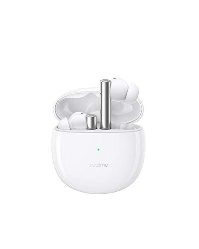 realme Buds Air 2 Cuffie Bluetooth, Cancellazione attiva del rumore, TWS Auricolari Senza Fili con Latenza ultra bassa a 88 ms, Driver Bass Boost Hi-Fi da 10 mm, IPX5 Impermeabili, 25H Playtime