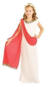 Pams Costume pour enfant Aphrodite style Romain Taille 9-12 ans
