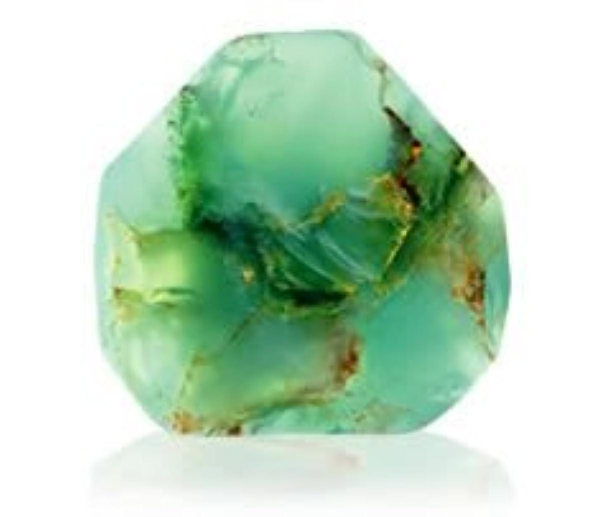 サークル滅びる目立つSavons Gemme サボンジェム 世界で一番美しい宝石石鹸 フレグランスソープ ジェイド 170g