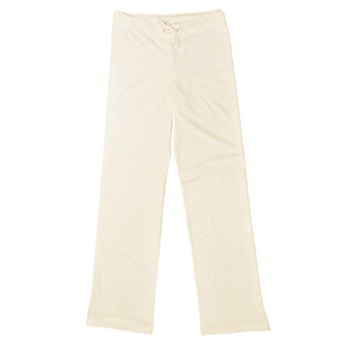 Ecoland Women's Organic Cotton Drawstring Pants - Natural L Made in...