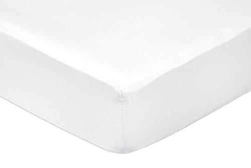 Todomueble Bajera Blanco 135 Sábana ajustable-135 x 190/200 x 25 cm