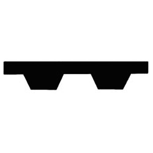 Thomafluid Zahnriemen für Profil T2,5 aus PUR (endlos), Profil: T2,5, Riemenbreite: 6 mm, Wirklänge: 950 mm, 6 Stück
