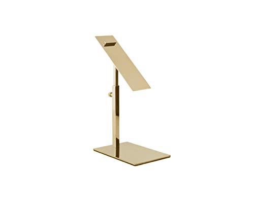 B/&NN Gold Color High-Low Size Metal Display Stand Riser Shoe Display Riser Set of 2