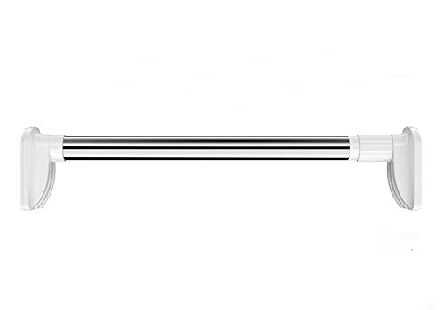 O&Ding つっぱり棒・つっぱり棚 突っ張り棒カーテン 室内 屋外 伸縮 物干し竿 ステンレ50CM-3M ?力耐重: 25-50KG (110-200CM 角形直径:25.5MM)