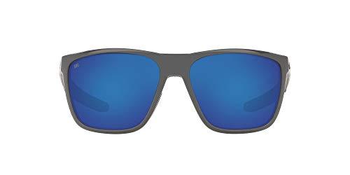 Costa Del Mar FERG Sunglasses Shiny Gray 580G FRG 298 OBMGLP