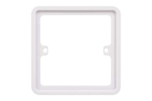 Schneider Electric GGBLSPC1S Lisse Abstandshalter, 1-fach, Weiß