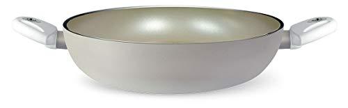 Pensofal Pen 6308-A Cazuela Antiadherente de Aluminio con Polvo de Diamante, 28 Cm, para Vitrocerámica, Inducción o Gas, 3.5 litros
