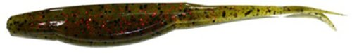Gambler Lures Super Stud Fishing Bait - Pack of 10 (Watermelon Red, 5-Inch)
