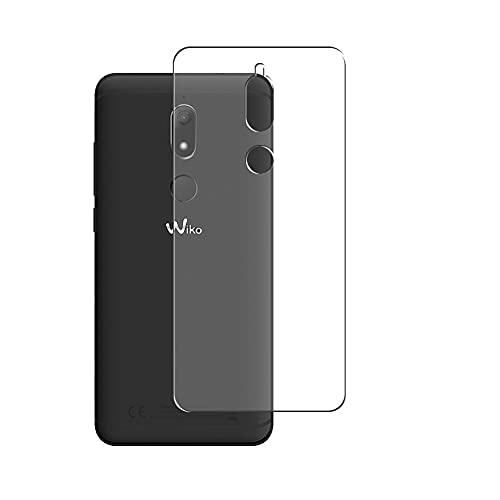 Vaxson 2 Unidades Protector de pantalla Posterior, compatible con goo g08 / Wiko View Prime [No Vidrio Templado] TPU Película Protectora Espalda Skin Cover