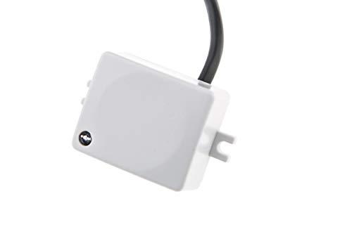 HUBER MOTION 59HF, detector de movimiento 120 ° / 360 °, blanco, incorporado, para instalación en interiores, diseño pequeño, potenciómetro para ajuste