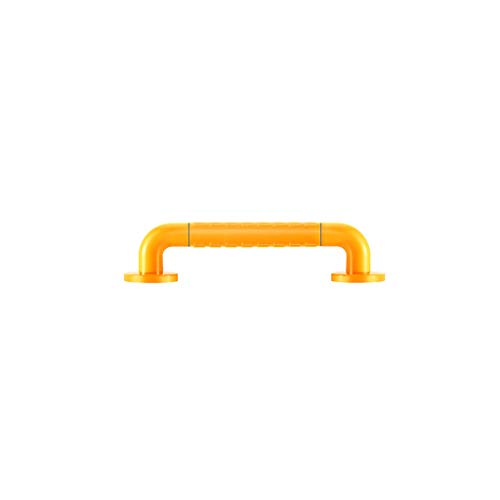 Barra de Agarre para Baño, Apoyabrazos del Cuarto Pasamanos De La Ducha, Color Sólido Amarillo / Blanco De 38 Cm Con Partículas Acero Inoxidable Tubo Interior Tubo Exterior Baño Inodoro Inodoro Accesi