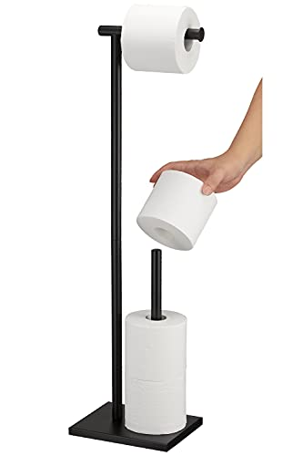 Top 10 best selling list for black toilet paper holder stand
