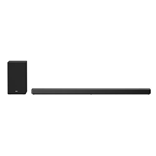 LG 5.1.2 Channel High Res Audio Soundbar with Dolby Atmos® and Goolge Assitant Built-In - SN10YG