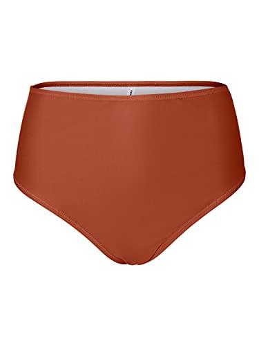 VERO MODA Damen VMMARTA HW Swim Pants Bikini-Unterteile, Baked Clay, M