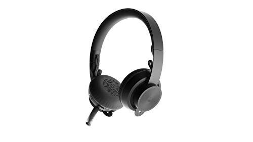 Logitech Zone Wireless Plus Bügel-Kopfhörer schwarz