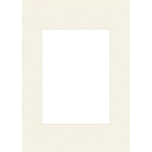 Hama - 63237 - Passe-partout Premium, blanc neige, 40 x 50 cm