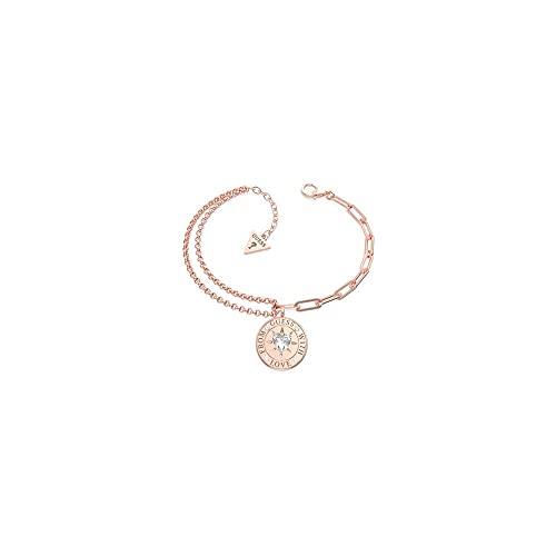Guess Jewellery from Guess Love Pulsera de oro rosa de 17 mm UBB70002-L