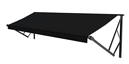 Lippert RV Solera Awning Roller and Fabric Assembly 14' Black V000211468 -  Lippert™