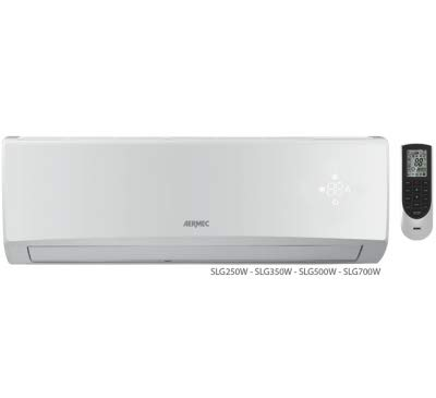 Monosplit climatizzatore/condizionatore AERMEC ad Inverter 12000 BTU - 3,5 kE A++/A+ SLG350/SSLG350W