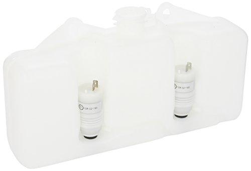 HELLA 8BW 003 443-057 Réservoir d'eau de nettoyage, nettoyage des vitres - 12V - Capacité: 3L - Pompe duale - blanc