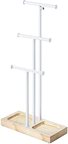 Stafeny Desktop-Dreischicht-Schal Krawatte Seidenschal-Display-Rack Bekleidungsgeschäft-Accessoire-Theke Schaufensterregal