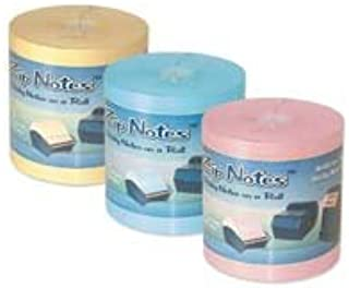 ZipNotes BLUE Refill Roll Sold Per Roll Contains 600 3 x 3 Sticky Notes