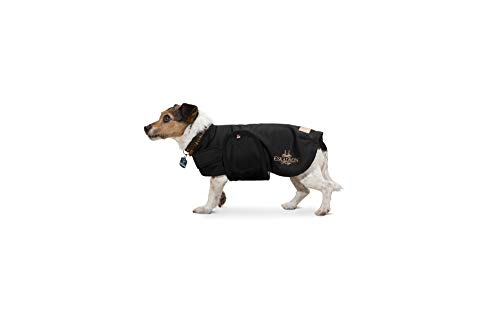 Eskadron Heritage Hundemantel Softshell in Black, Größe:30