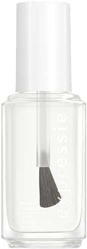 essie expressie Quick-Dry Vegan Nail Polish, Always Transparent, Clear, 0.33 Ounce