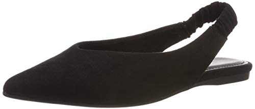 s.Oliver Damen 5-5-29401-22 001 Slingback Pumps, Black, 39