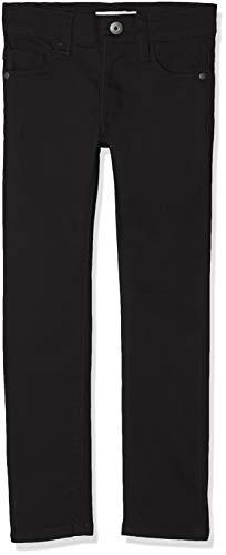 NAME IT Jungen NKMTHEO TWIADAM Pant NOOS Hose, Schwarz (Black), (Herstellergröße:110)