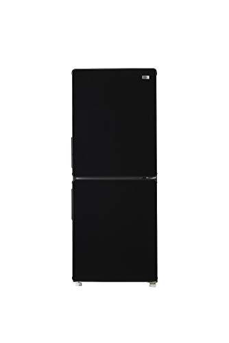 ハイアール148L2ドア冷蔵庫(ブラック)【右開き】HaierJR-NF148B-K