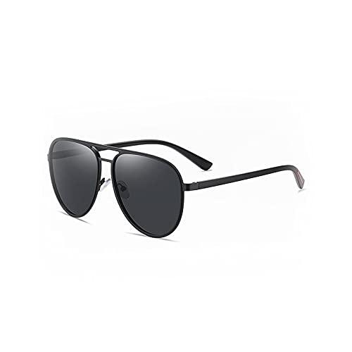 Heigmztyj Sunglasses, 1 unids Flotante Polarizó Gafas de Sol Protección Ideal para Pesca y navegación. (Color : Black)