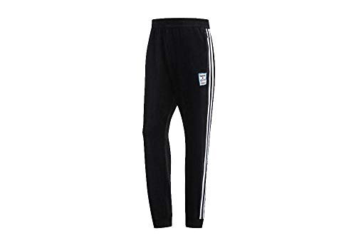 adidas Men's Velour Track Pants HAGT Black/Blue DZ9234