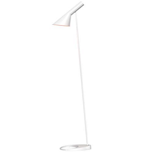 AJ Floor Lamp, Louis Poulsen, Stehleuchte Entworfen von Arne Jacobsen (Weiß)