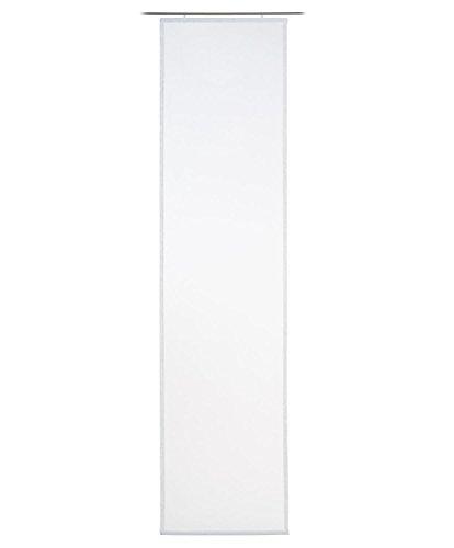 Gözze Schiebevorhang Sambia 17 60x245cm Weiss