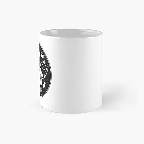 Taza clásica de Microbiología con diseño de gatos Love Microbiología, el mejor regalo divertido tazas de café de 325 ml
