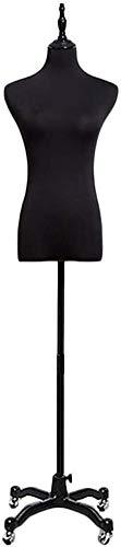 LILIS Manequin De Couturiere Femme Mannequin Corps Torse Buste Tailoring Shapely Forme Robe de mariée Pas de Bras Pantalons Vêtements Robe Bijoux Afficher (Size : S)