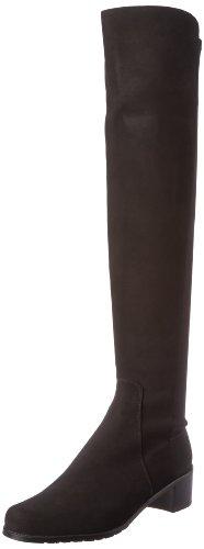 Stuart Weitzman Women's Reserve Boot,Black/Black,6 M US
