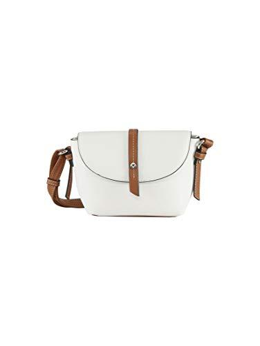 TOM TAILOR Damen Taschen & Geldbörsen Überschlagtasche Novara White,OneSize