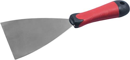 Connex Malerspachtel 100 mm - Ergonomischer 2K-Griff & Klinge aus rostfreiem Stahl - Zum Verspachteln & Abkratzen von Farbe oder Tapete / Universalspachtel / Griffspachtel / COX880300