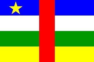 Zentralafrikanische Republik Flagge 150cm x 90cm