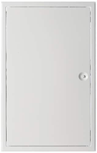 Upmann 20589 Revitür Softline sv 300x500 RAL9016 Vierkantverschluss