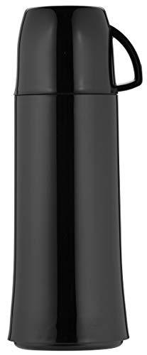 Helios Elegance Isolierflasche, Kunststoff, schwarz, 0,75 Liter