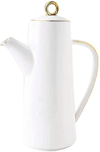 YTCGNSDVB Lata de Aceite Dispensador de Botella de vinagre de Aceite de Oliva,Botella dispensadora de cerámica Botella de Botellas de Aceite de cerámica Botella de Aceite de Oliva Salsa de Soja Vinag