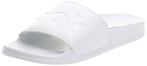 Reebok Unisex-Erwachsene Classic Slide Dusch-& Badeschuhe, Weiß (White/Whit/Black 0) , 36 EU