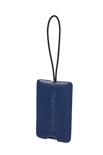 Samsonite Global Travel Accessories Secure Luggage Tag, 11 cm, Blue (Midnight Blue)